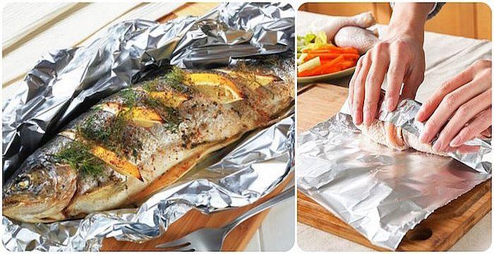papel-de-aluminio-pescado